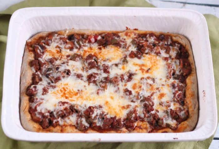 Pizza Casserole from Living Well Kitchen