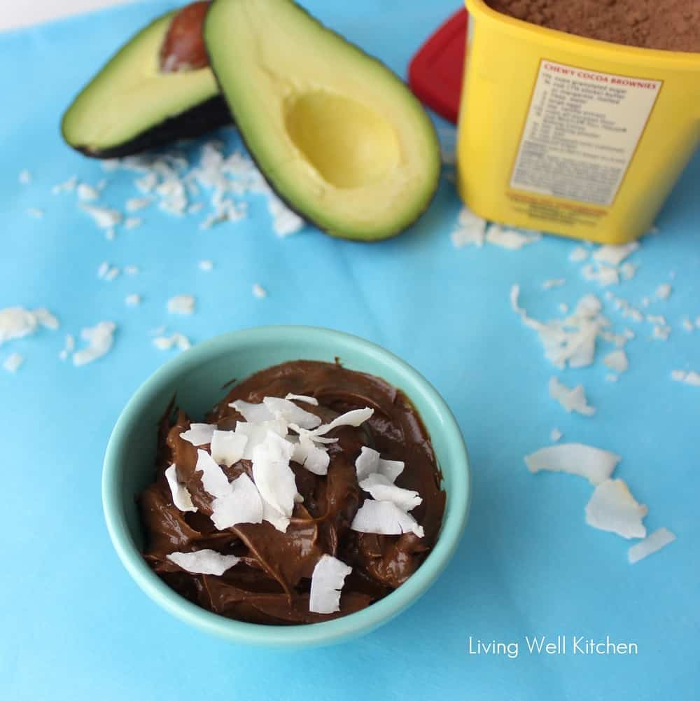 Avocado Pudding from Living Well Kitchen