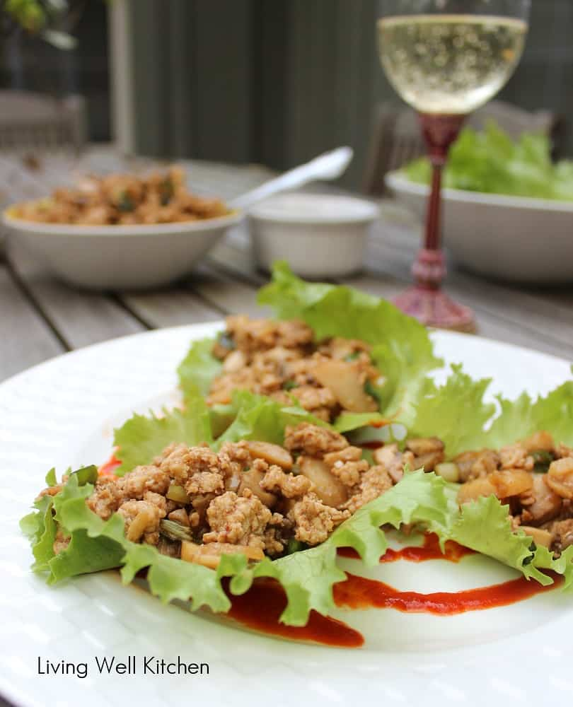 Asian Lettuce Wraps from Living Well Kitchen1