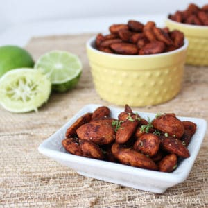 Chipotle Honey Lime Almonds from Living Well Kitchen
