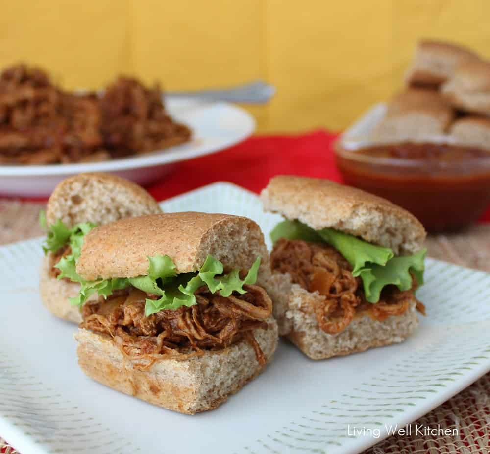 Crock Pot Pulled Pork from Living Well Kitchen