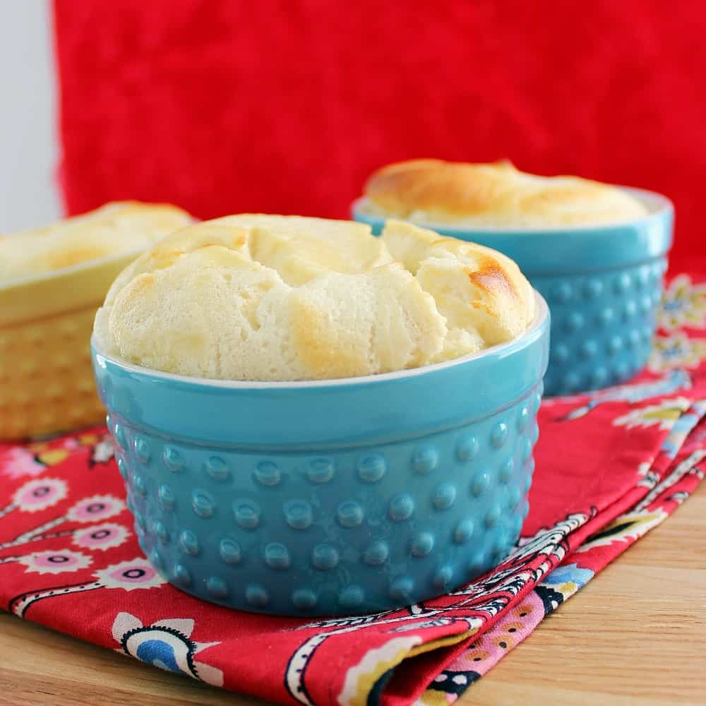 Yogurt Soufflés from Living Well Kitchen