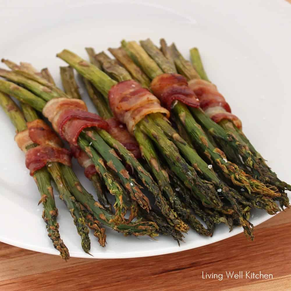 Bacon Wrapped Asparagus from Living Well Kitchen