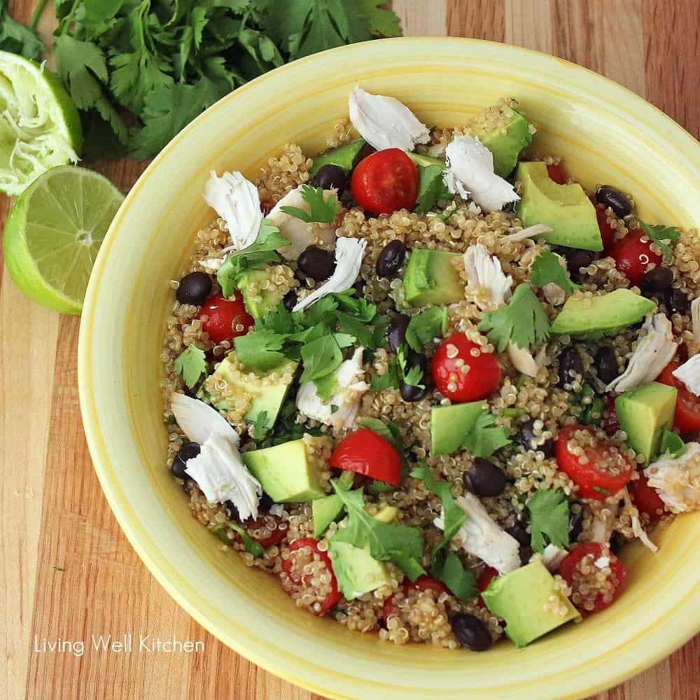 Mexican Quinoa Salad from Living Well Kitchen