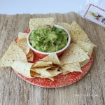 Roasted Tomatillo Guacamole from Living Well Kitchen