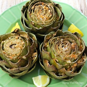 Stuffed Artichokes from Living Well Kitchen
