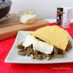 Philly Cheese Steak Tacos from Living Well Kitchen