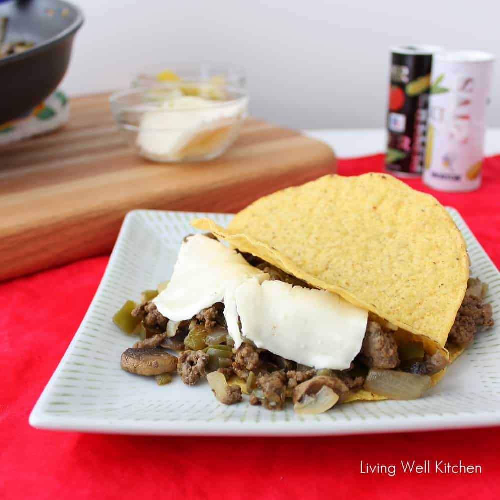 Philly Cheese Steak Tacos
