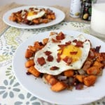 Sweet Potato and Bacon Hash from Living Well Kitchen
