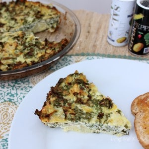 Kale, Artichoke, and Ricotta Pie | Living Well Kitchen