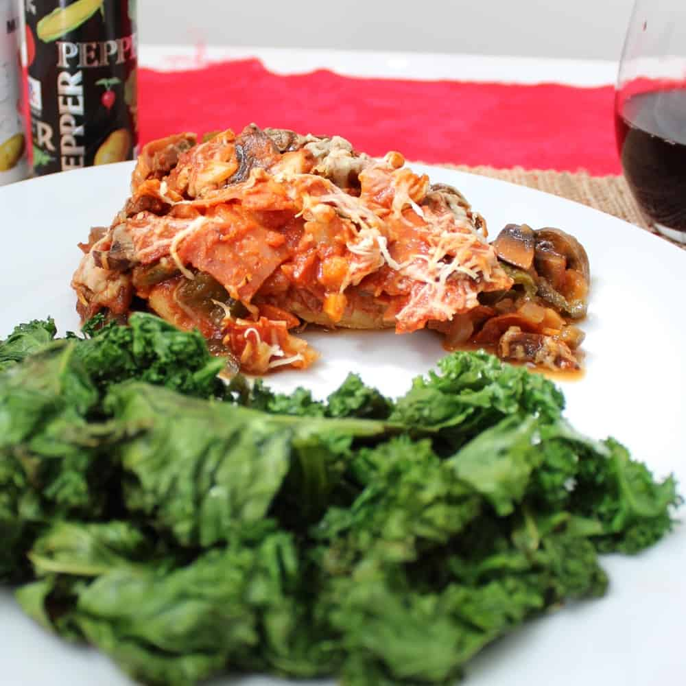 Pizza Chicken from Living Well Kitchen