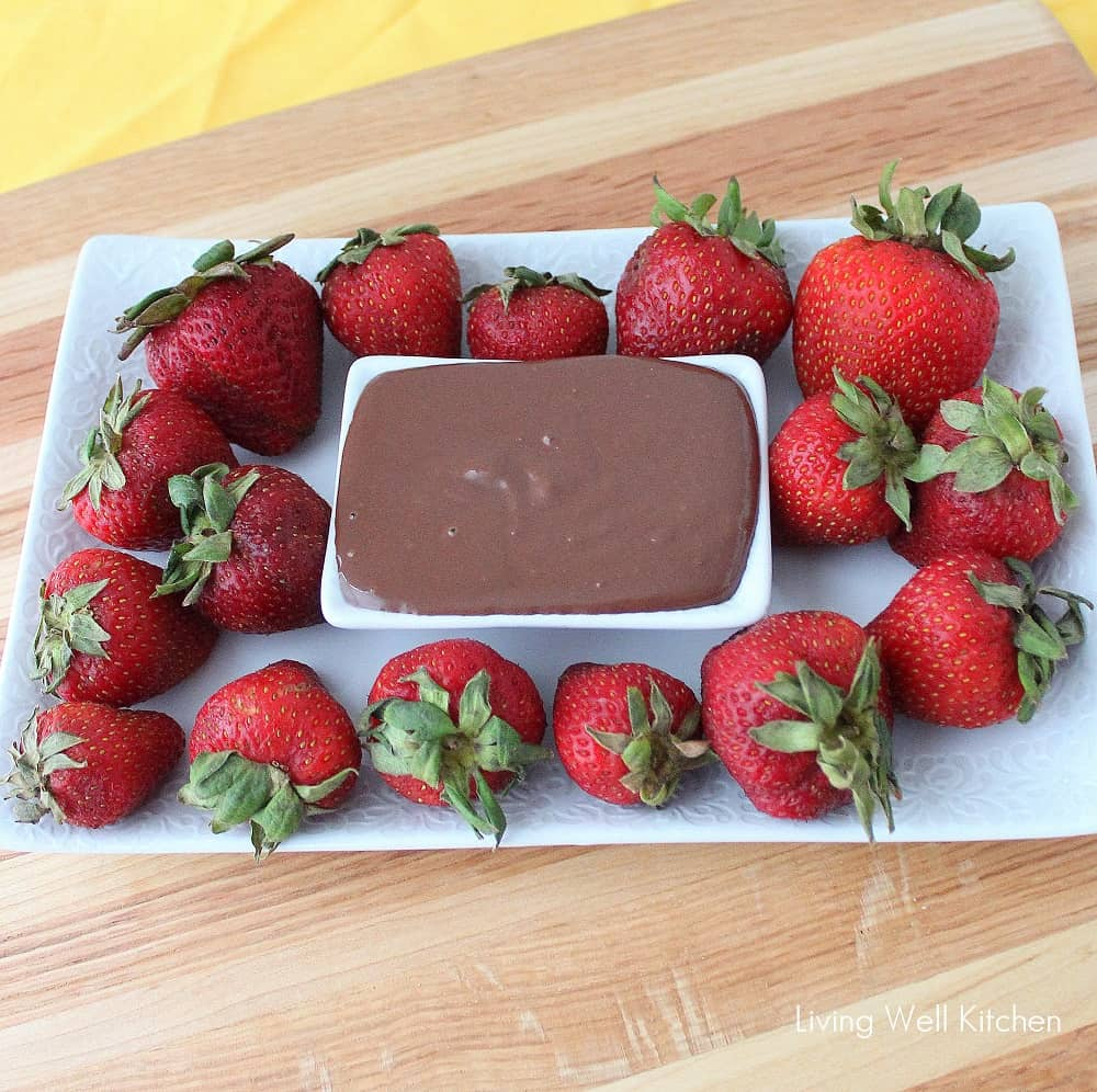 Easy Chocolate Sauce from Living Well Kitchen