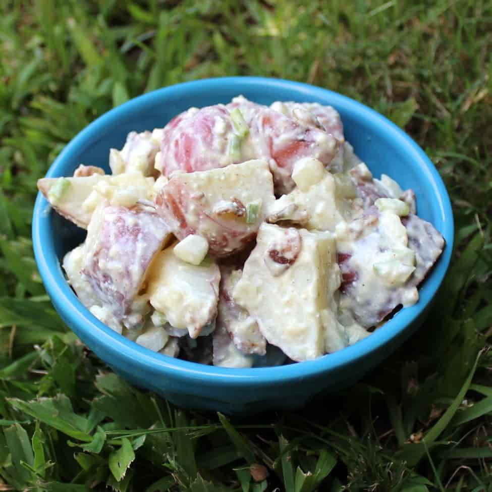 Healthier Potato Salad from Living Well Kitchen