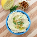Roasted Garlic Hummus from Living Well Kitchen