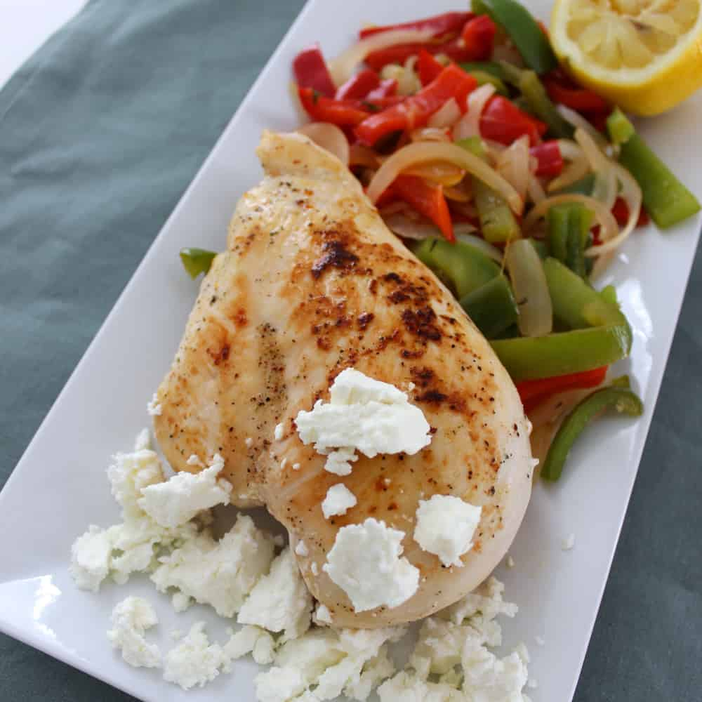 Goat Cheese Chicken from Living Well Kitchen