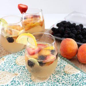 Berry Peach Sangria