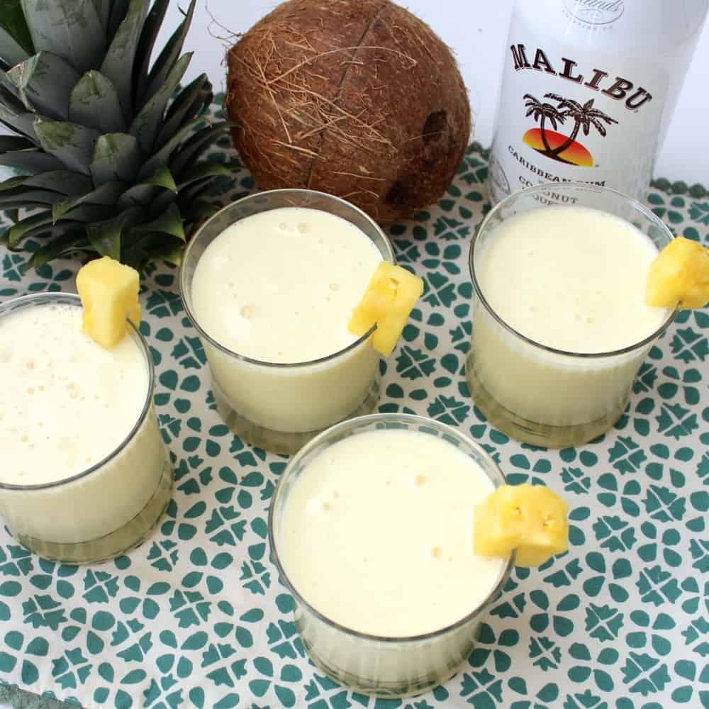 Piña Coladas from Living Well Kitchen
