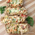 Cajun Crawfish Bread from Living Well Kitchen
