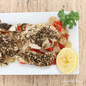 Crock-Pot Lemon Chicken from Living Well Kitchen