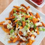 Healthier Blue Cheese Fries from Living Well Kitchen