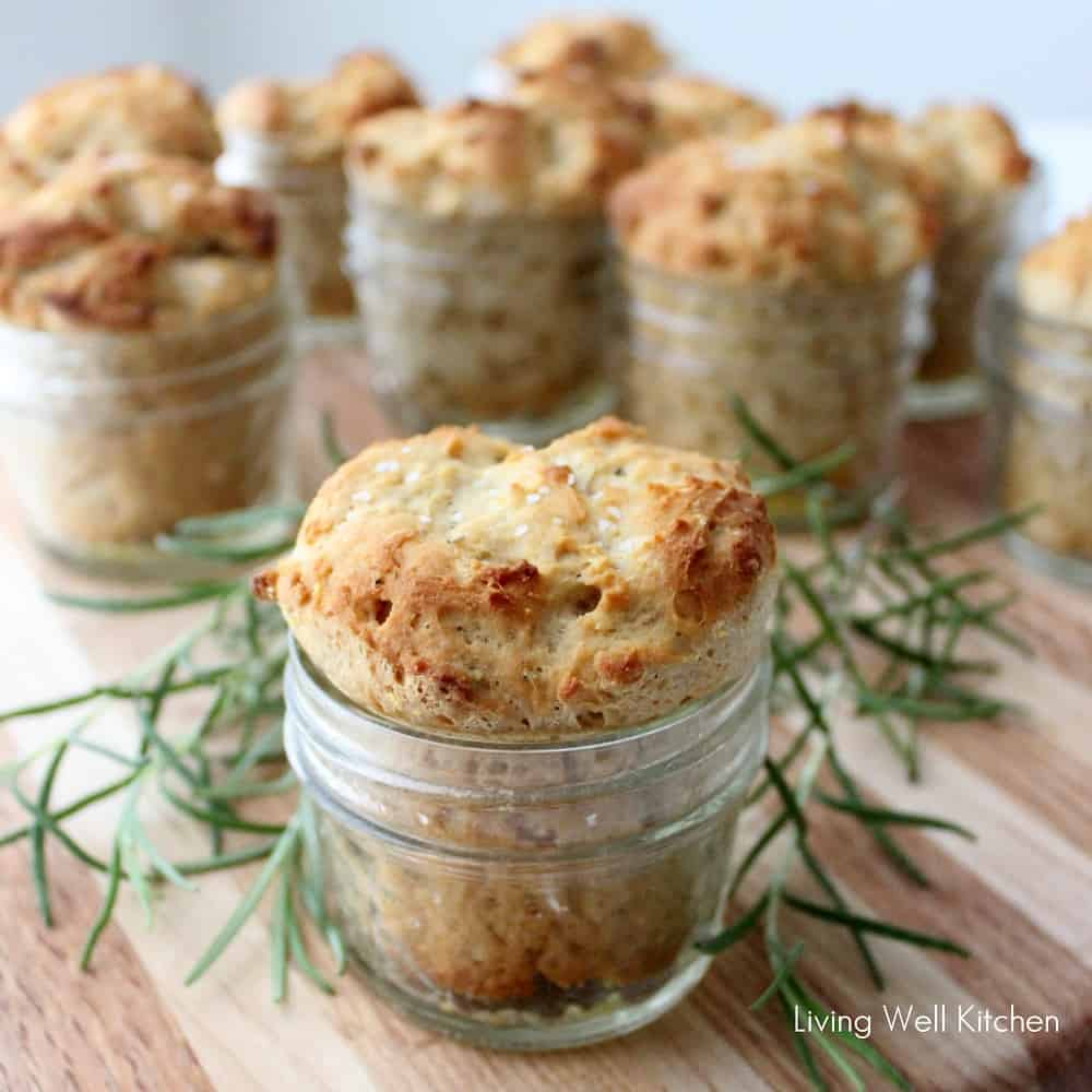 Whole Wheat Rolls in Jars from Living Well Kitchen