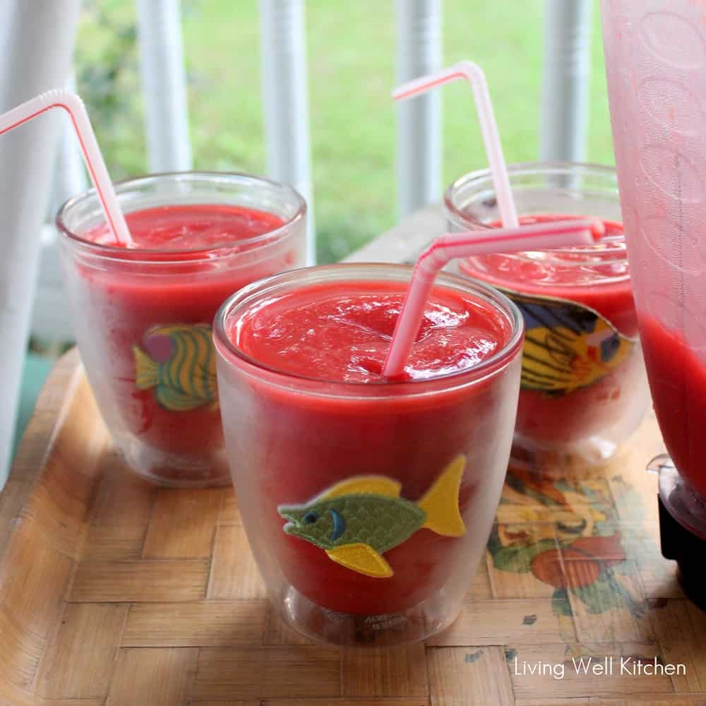 Strawberry Daiquiris from Living Well Kitchen