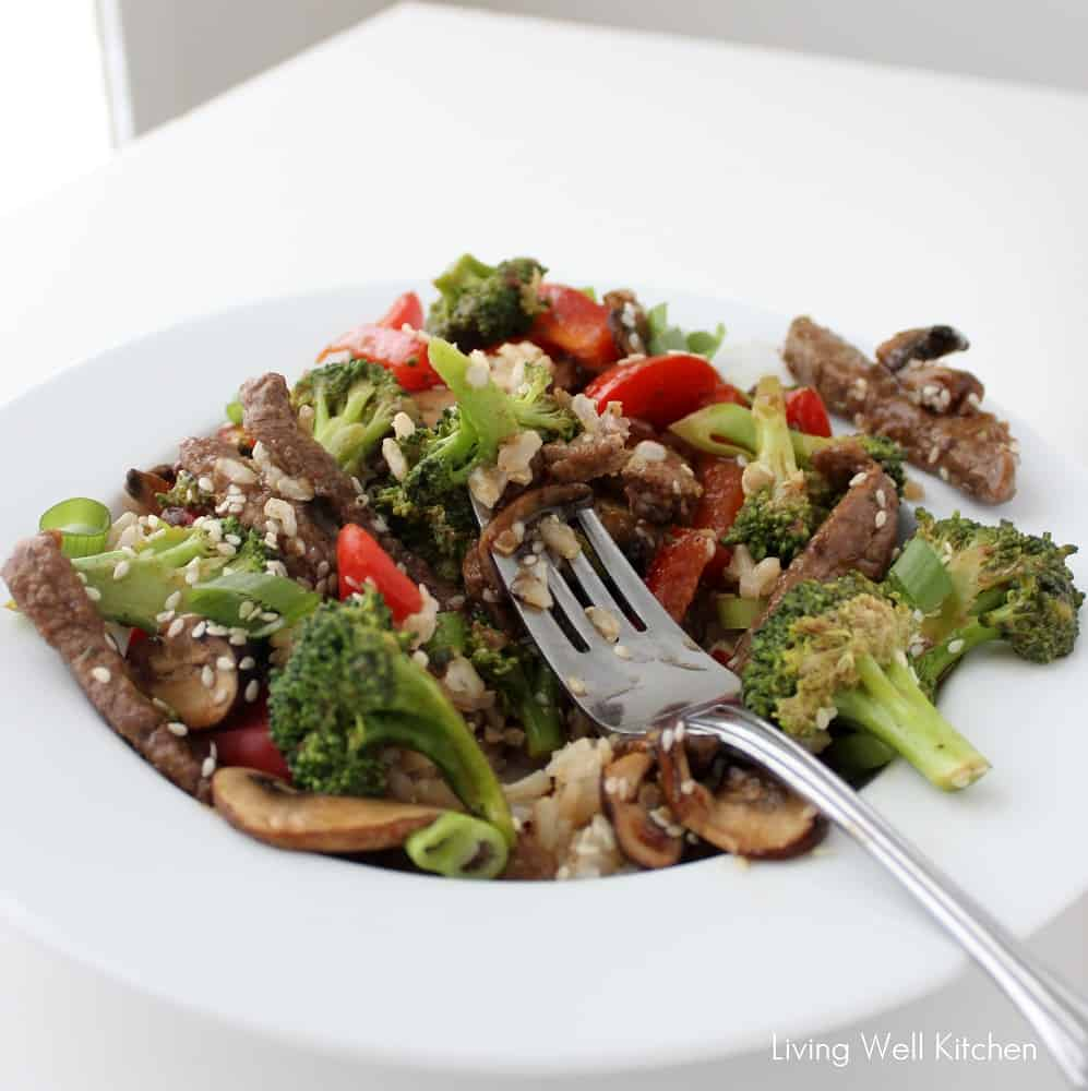 Beef and Veggie Stir-fry from Living Well Kitchen