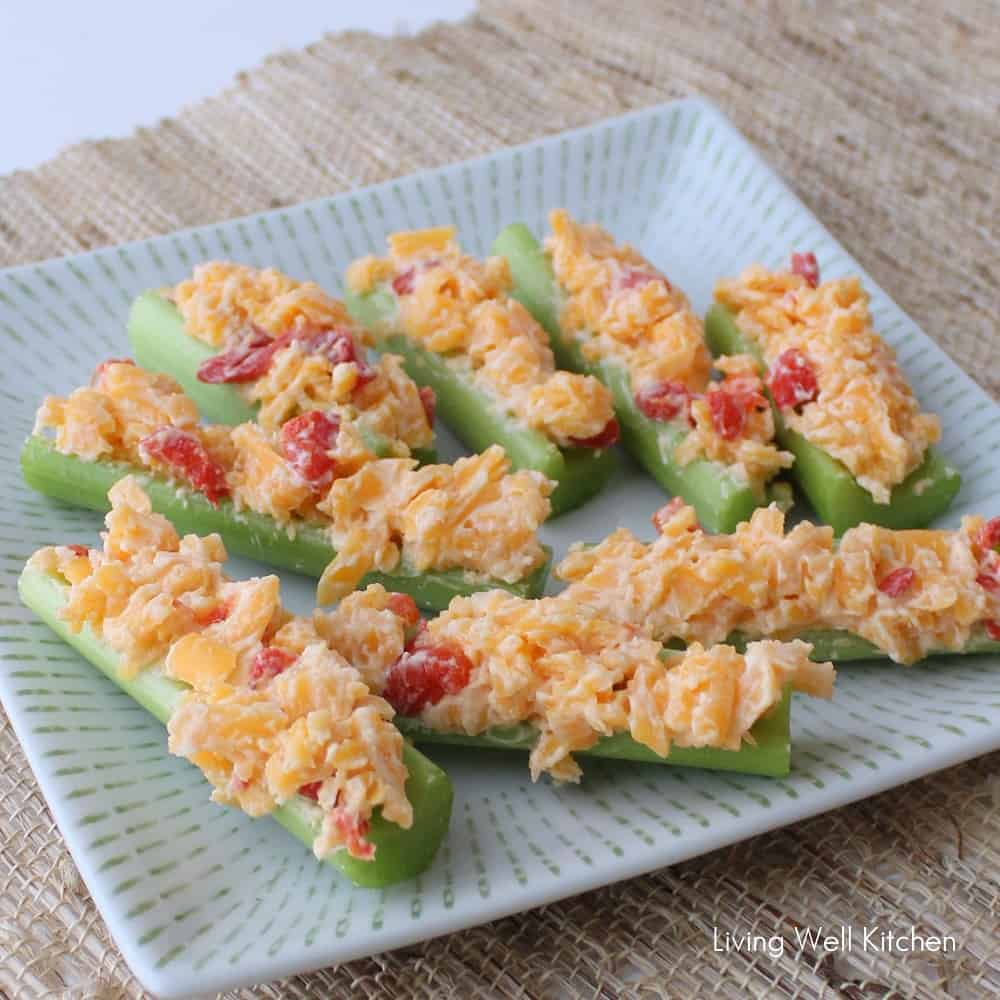 Pimento Cheese Boats from Living Well Kitchen