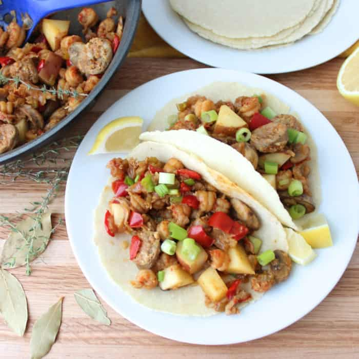 Crawfish Tacos from Living Well Kitchen