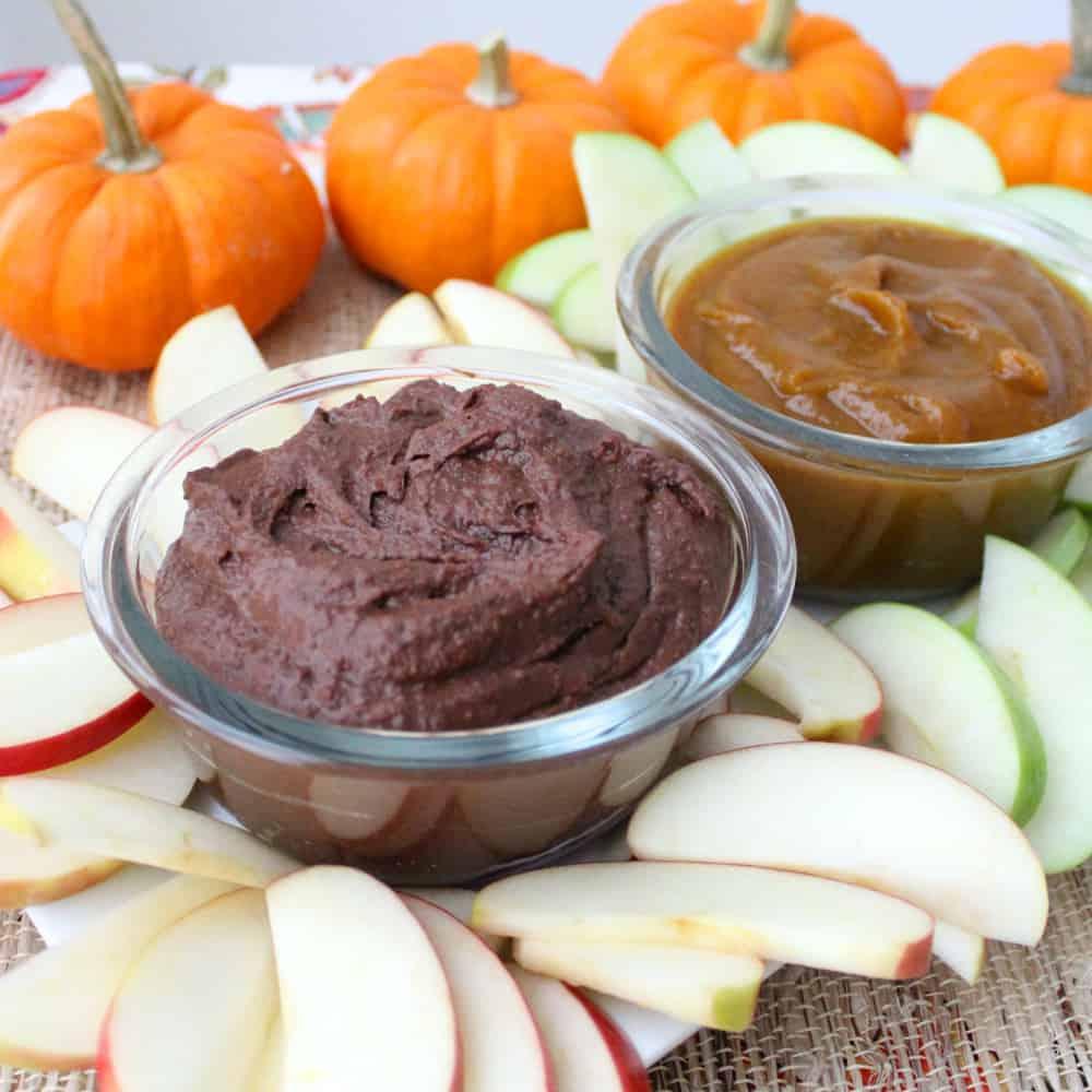 Brownie Batter Dip and Pumpkin Butter from Living Well Kitchen
