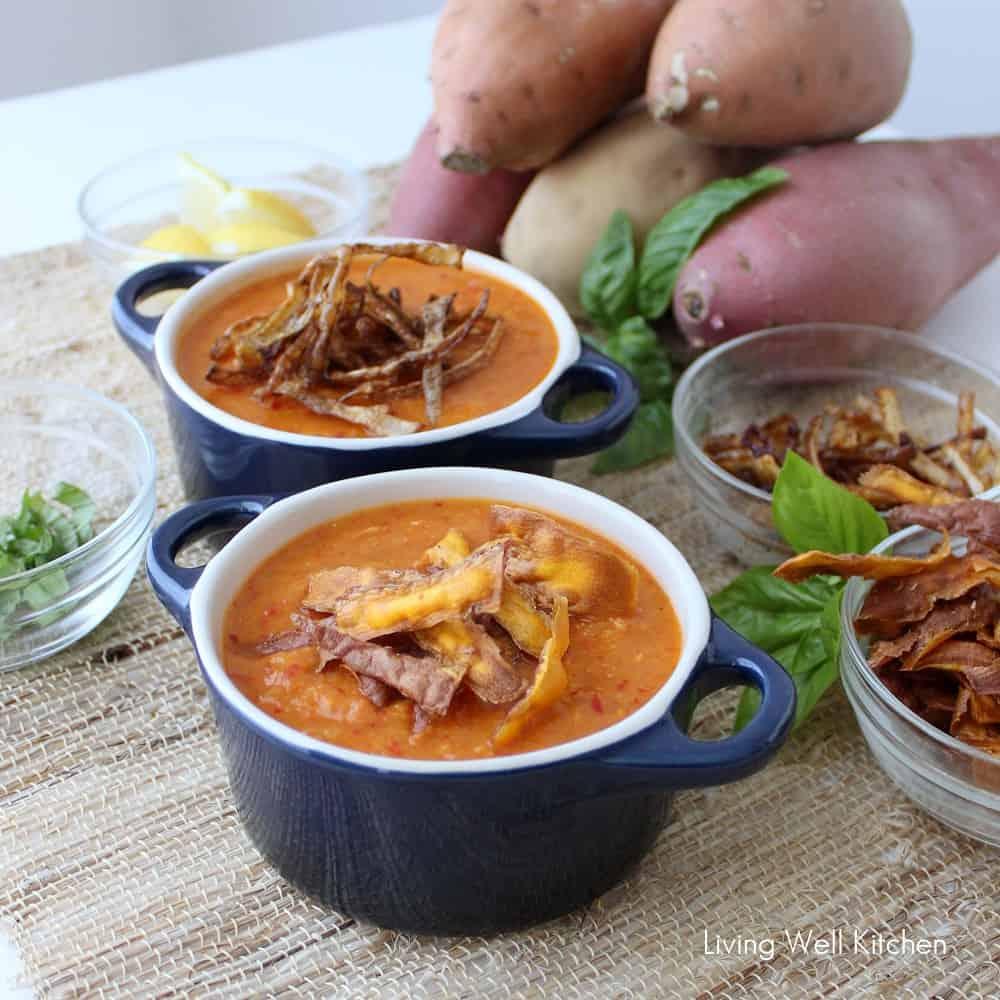 Roasted Sweetpotato Lentil Soup Living Well Kitchen