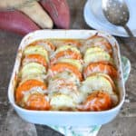 Scalloped Sweetpotato Casserole from Living Well Kitchen