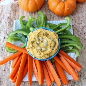 Pumpkin Hummus from Living Well Kitchen
