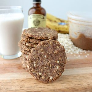 Almond Butter Banana Cookies from Living Well Kitchen