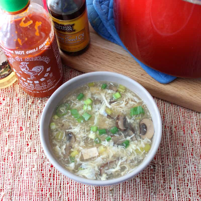 Hot and Sour Soup from Living Well Kitchen