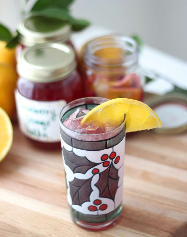 Cranberry Orange Vodka from Living Well Kitchen