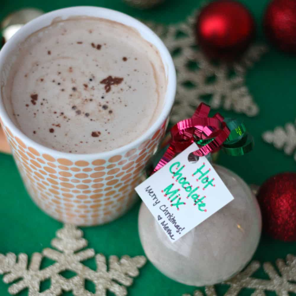 Hot Chocolate Mix from Living Well Kitchen