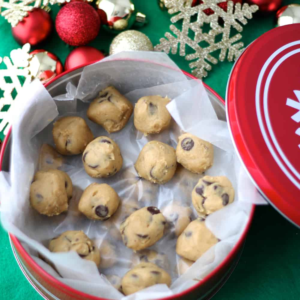 Chocolate Chip Cookie Dough from Living Well Kitchen
