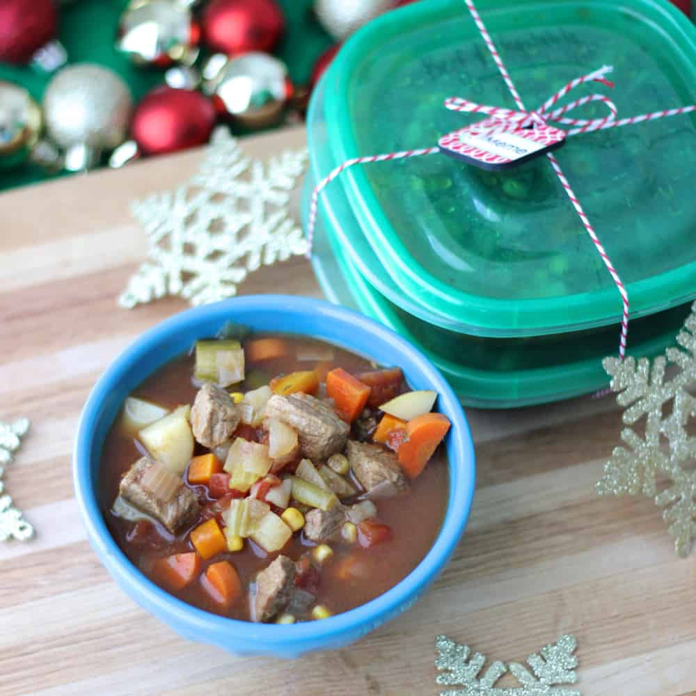 Beef and Vegetable Soup | Living Well Kitchen