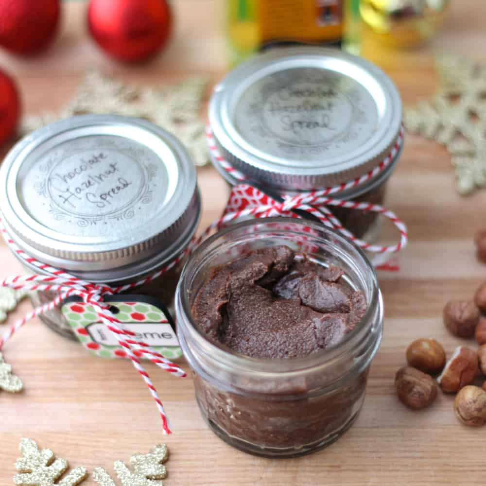 Chocolate Hazelnut Spread from Living Well Kitchen