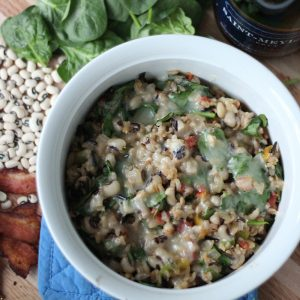 Black Eyed Pea Casserole from Living Well Kitchen