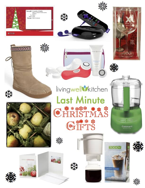 Living Well Kitchen Last Minute Christmas Gifts