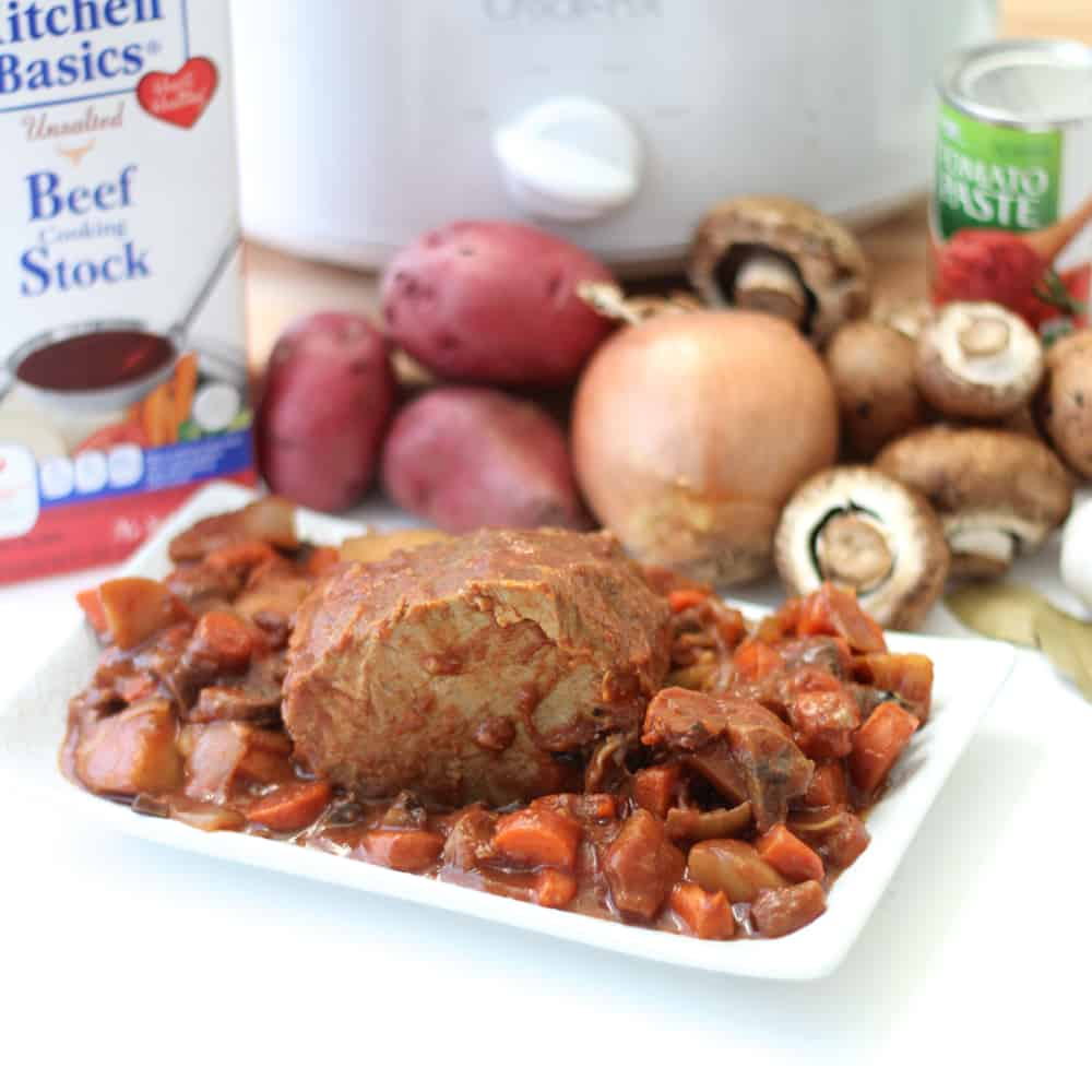 Slow Cooker Pot Roast from Living Well Kitchen