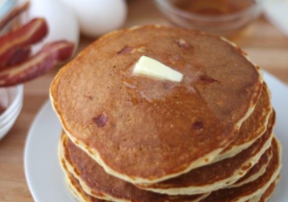 Bacon Protein Pancakes