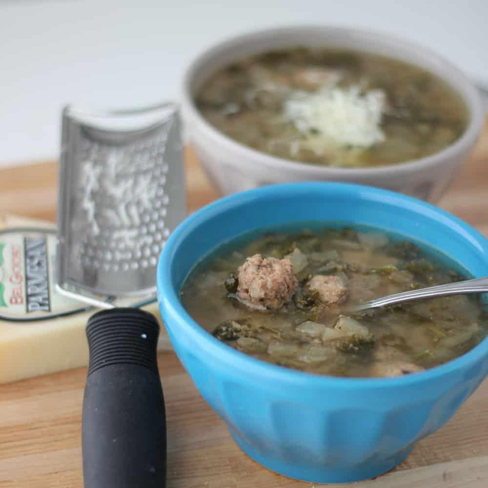 Crock Pot Italian Wedding Soup from Living Well Kitchen