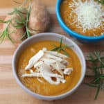 Sweet Potato Bisque from Living Well Kitchen