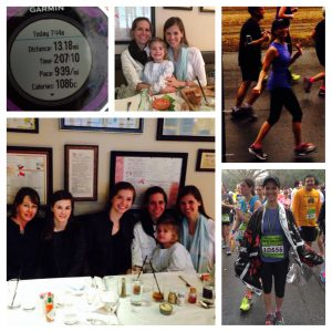 my half marathon training