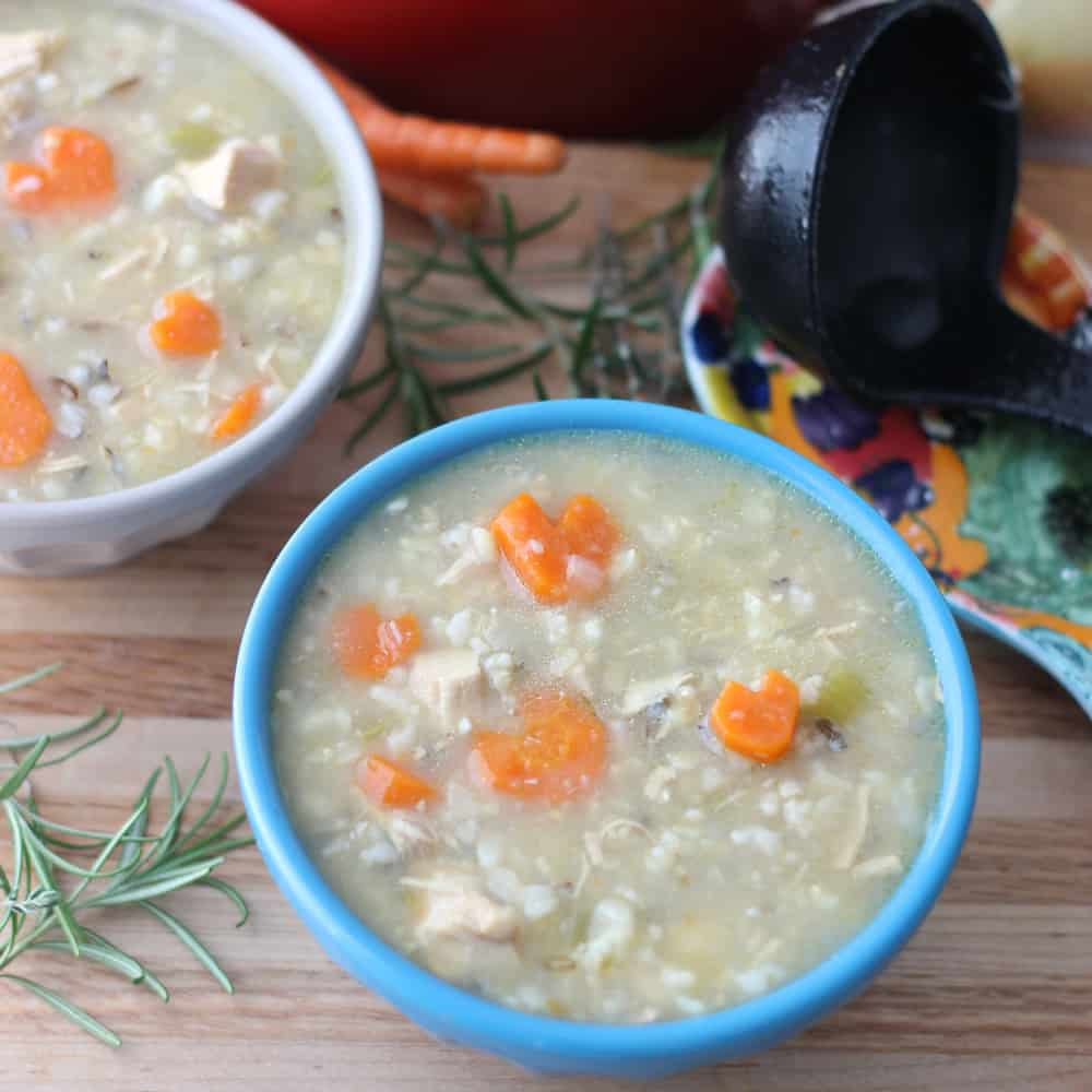 Chicken and Rice Soup from Living Well Kitchen