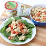 Basil Balsamic Chicken Salad from Living Well Kitchen