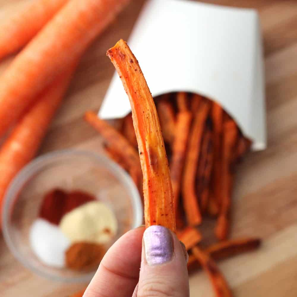 Carrot Fries from Living Well Kitchen